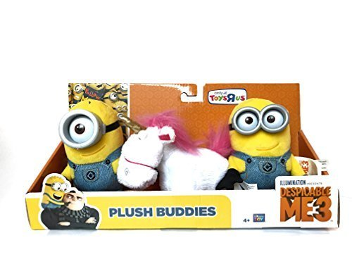Despicable Me 3 - Plush Buddies Exclusive 3-pack with Two Mi
