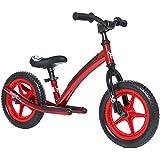"Mobo Explorer Safe Padded Balance Bike. Kids No-Pedal Kick & Glide Bicycle, 12"" Wheels, Red"