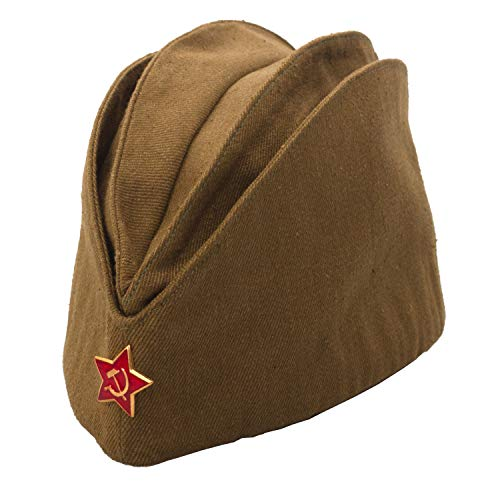 Russian Armed Forces Side Cap / Pilotka Large Khaki ()