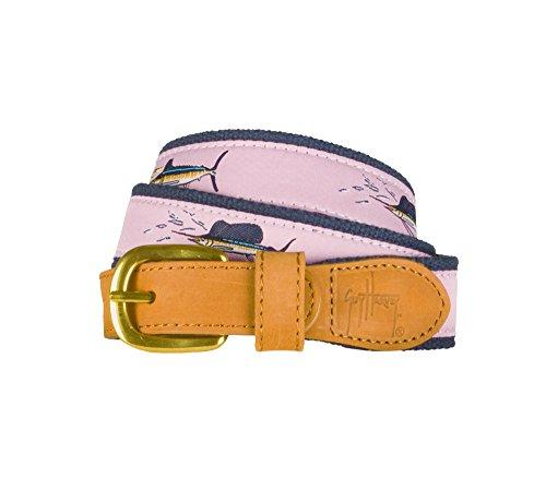 Guy Harvey Offshore Slam Belt-Pale Pink (46) ()