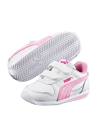 Puma - Zapatillas para niña Bianco/rosa