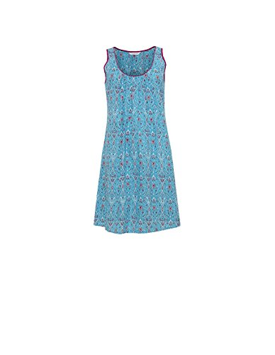 Loungewear Cyberjammies Blue Nightdress Gown Aqua Night 3708 Katrina Women's Motif aq8Bwa
