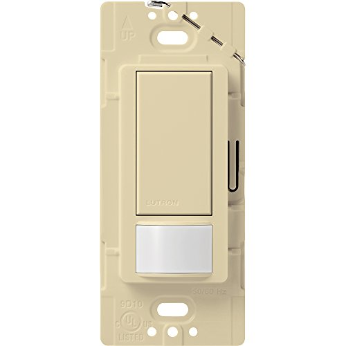 (Lutron Maestro Motion Sensor switch, no neutral required,  600 Watts Single-Pole/Multi Location, MS-OPS5M-IV, Ivory)