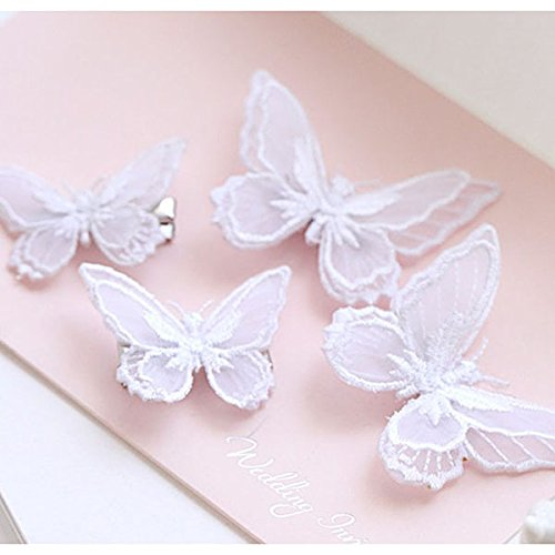 Tinksky Butterfly Clips Accessories Women