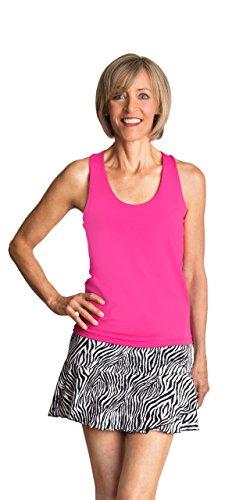 Peachy Tan Zebra Skirt