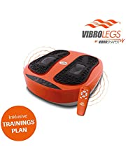 Mediashop VibroLegs | Vibrationsplatte | Kombination aus Vibration und Massage, inkl. Fernbedienung, Trainings-Plan, 3 Programme | Das Original aus dem TV