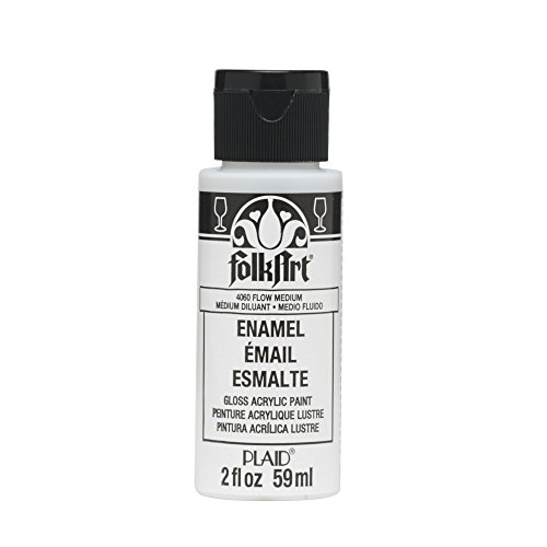 Craft Folk Art Enamel Paint, 2-Ounce, Flow Medium ()