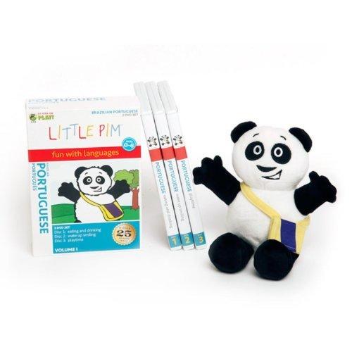 Little Pim Portuguese For Children-Discovery Set by Little Pim