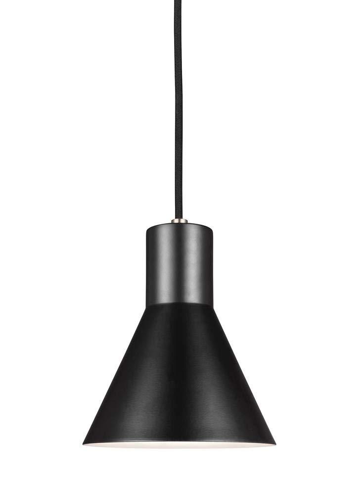 Sea Gull Lighting 6141301-962 Towner Pendant One-Light Brushed Nickel Finish