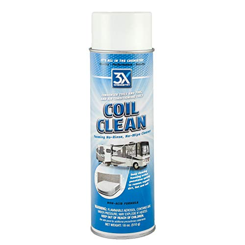 3X:Chemistry 46822 Foaming Coil Cleaner - 18 oz.