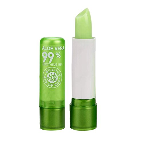 Aloe Vera Lipsticks Color Mood Changing Long Lasting Moisturizing Lip ()