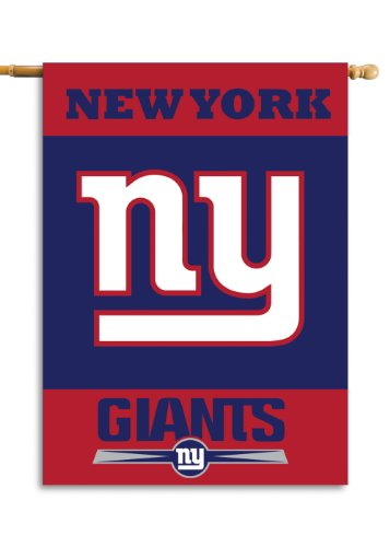 New York Giants House (NFL New York Giants 2-Sided 28-by-40-Inch House Banner)