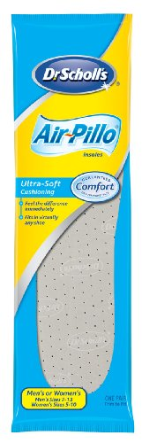 Dr. Scholl's Air Pillo Insole Unisex (Pack of 6) (Medical Pillows Bottoms)