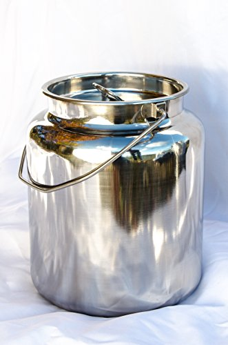 Milk Stainless Steel Handle Gallon product image