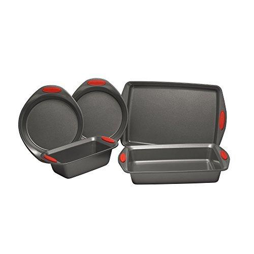 Rachael Ray Yum-o! Nonstick Oven Lovin' Bakeware Set, Gray w