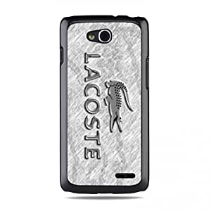 Lacoste Phone Case Lacoste Back Full Protection Phone Case Lacoste LG L90 Phone Case