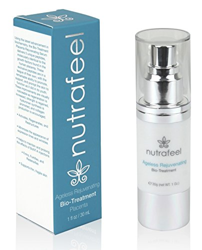 ANTI AGING Rejuvenating Bio Treatment (Medical Grade) - Revolutionary BIO-PLACENTA Anti-Wrinkle Serum with ARGIRELINE | REDUCES Lines & Wrinkles | BOOST Collagen | Prolongs BOTOX by Nutrafeel (Placenta Anti Aging)