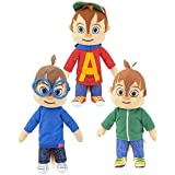 "Alvin and the Chipmunks 8.5"" Plush Set - Simon and Theodore"