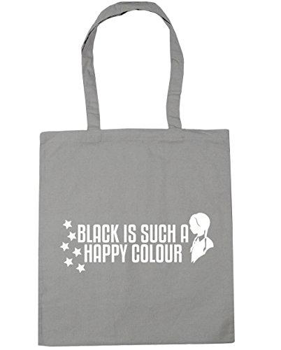 42 nbsp;cm De Color X38 nbsp;litros La Gris Playa A Hippowarehouse Is Happy Claro Black 10 nbsp;cm Bolsa Compra Such CwqnpP