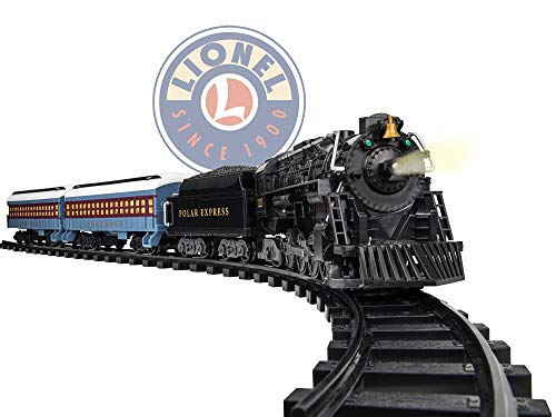 Lionel The Polar Express Battery Train Set Ready to Play w/ Remote (Best Train Set For 5 Year Old)