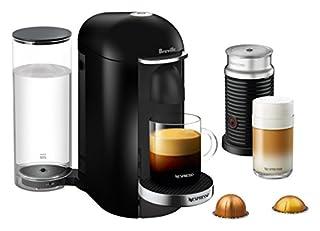 Nespresso VertuoPlus Deluxe Coffee and Espresso Machine by Breville with Aeroccino Milk Frother - Black (B01MSACZGH) | Amazon Products