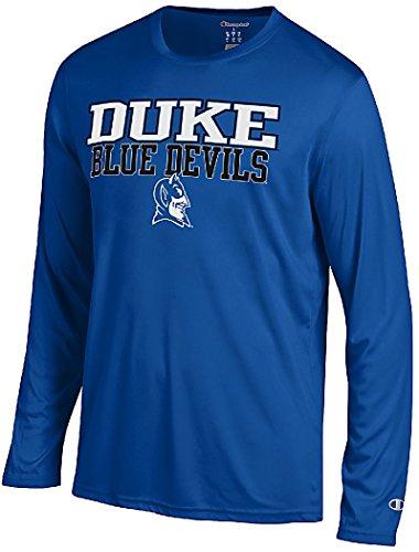 Duke Blue Devils Royal Vapor Dry Champion Powertrain Long Sleeve T-Shirt (XX-Large)