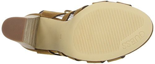 Sandali con Medium Natural Marrone Guess FLEB21ESU03 Donna Tacco E5YTnq