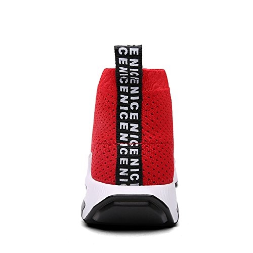 SITAILE Scarpe Uomo Ginnastica Outdoor Basse Rosso Sportive Sneakers da xAxSgPwqr