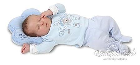 Babykopfkissen in Optimaler Form F/ütterkissen BabyMatex Flor Dark Grey Ideal auch als Stillkissen