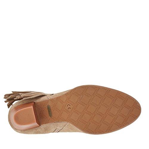 Womens Faros Fringe Boot Light Tan Size 11