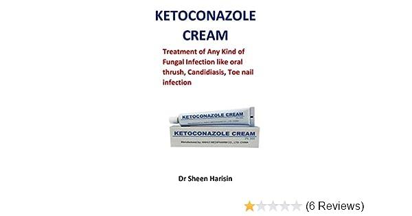 ketoconazole cream treatment of any kind of fungal infection like