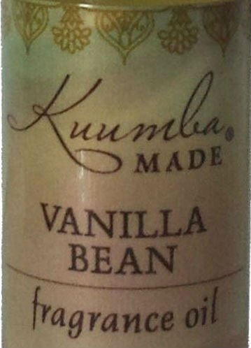 Kuumba Made Vanilla Bean Fragrance Oil Roll-On .125 Oz / 3.7 ml (1-Unit)