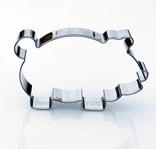 Big Pig Cookie Cutter- Stainless Steel]()