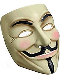 Guy Fawkes V For Vendetta, Anonymous Latex Mask 2014 HLWMSK52