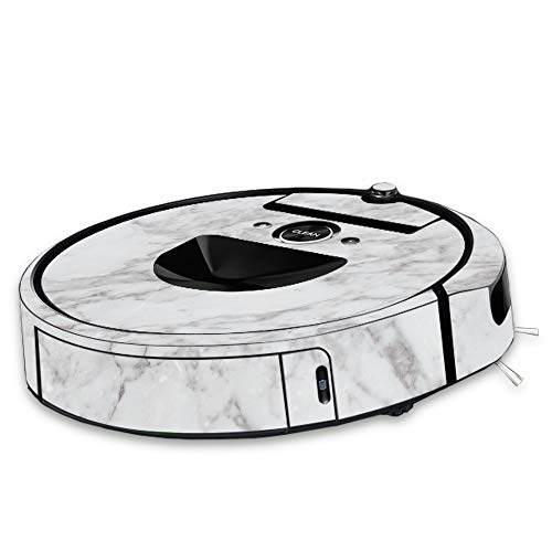 MightySkins Skin Compatible with Roomba i7 Robot - Frost Marble | Protective, Durable, and Unique Vinyl Decal wrap Cover | Easy to Apply, Remove, and Change Styles | Made in The USA
