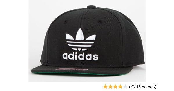 9f3c19364a5 Amazon.com  adidas Thrasher Snapback Hat Black White