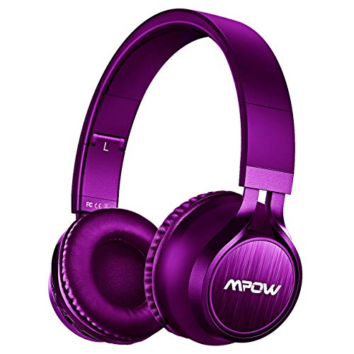 Mpow Thor Bluetooth Headphones Over Ear Wireless Headset Portable with Mic & Cord Mode 120 Songs Playing Time for TV/PC/Cell Phone