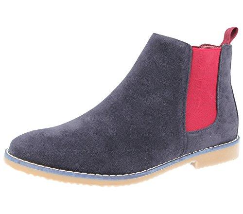 Stivali Adulti Uomo Foster Chelsea Donna Footwear burgundy Ragazzi Unisex Navy RSnn5Aq1
