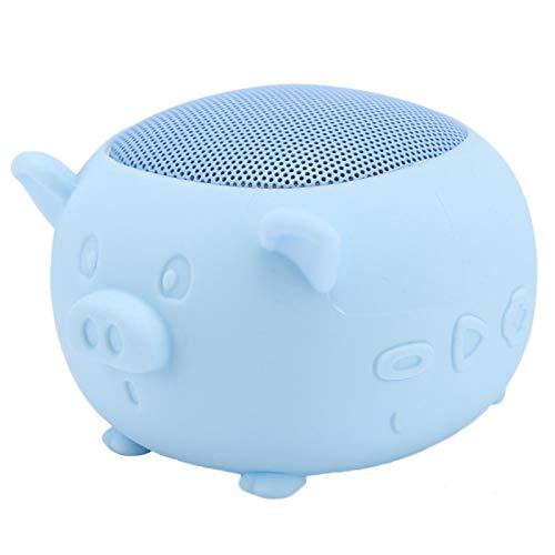 Draadloze verbindingen Ingebouwde microfoon Stereo Bluetooth-luidspreker Bluetooth-luidspreker voor IPads(blue)