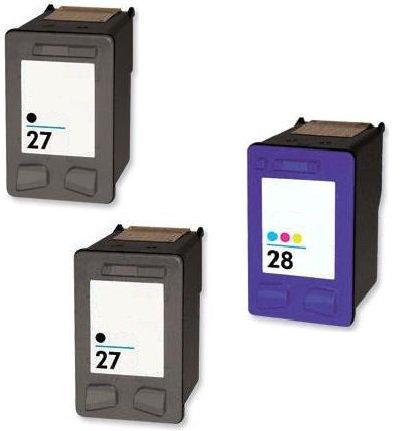 Prestige Cartridge 3 Compatible 27 28 Cartuchos de Tinta para HP ...