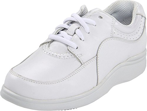 Hush Puppies Womens Power Walker Sneaker, White, 41.5 W EU/7.5 W UK