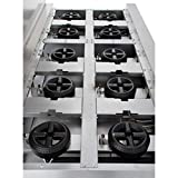 Empura Stainless Steel Commercial Gas Range with