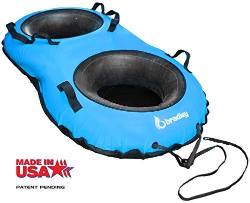 - Bradley Tuboggan Double-Rider Snow Tube | Sledding Tubes | Inflatable Toboggan