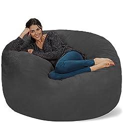 Chill Sack Bean Bag Chair: Giant 5' Memo...