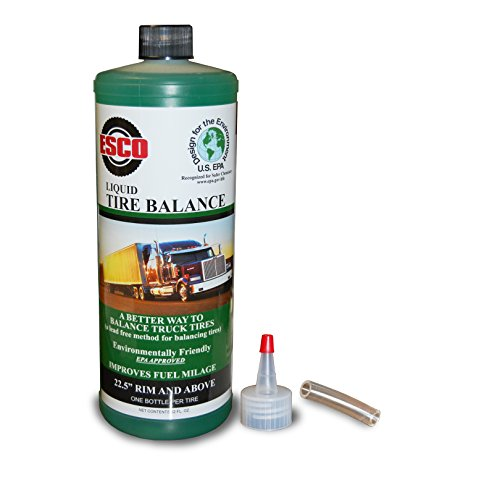ESCO Liquid Tire Balance - Case of Twelve 32oz. Bottles (Tire Balancer Truck)
