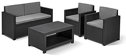 Allibert Monaco - Conjunto de muebles de jardín, diseño de ...