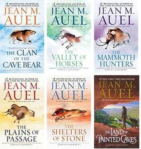 The Complete Jean M. Auel Earth's Children Series Six Book Set [Clan of the Cave Bear, Valley of the Horses, Mammoth Hunters, Plains of Passage, Shelters of Stone, and Land (Jean Bear)