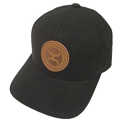 HOOey Brand Buck Black Snapback Hat - 1826T-BK from Hooey