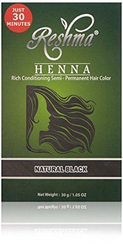 Reshma Beauty Natural Black 30 Minute Henna Hair Color (Best Natural Henna For Hair)
