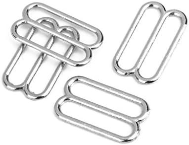 鉄製 ブラ アジャスター用 8の字型 リング バックル 10mm